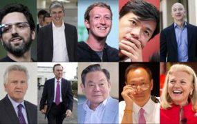 جایگاه مدیران تکنولوژیک در بین قدرتمندترین چهره های دنیا از دید فوربس