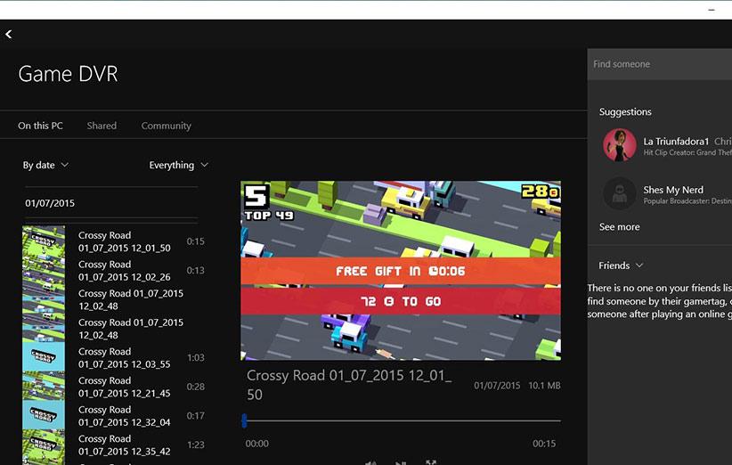 Xbox DVR