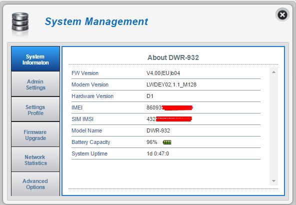 D-Link DWR 932 - LH92